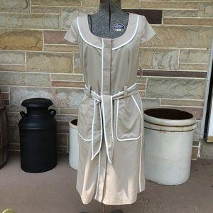 Dressbarn Button Front Dress